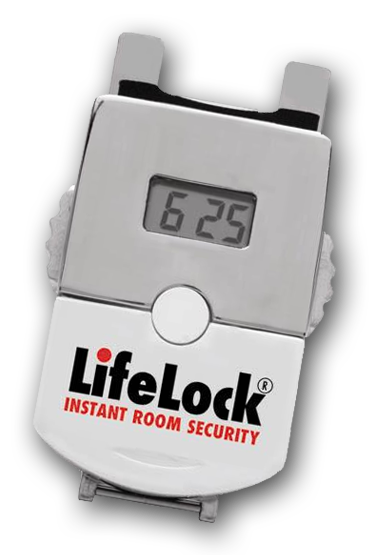 Lifelock - The Pocket-Sized Portable Door Lock! I bought one of these for