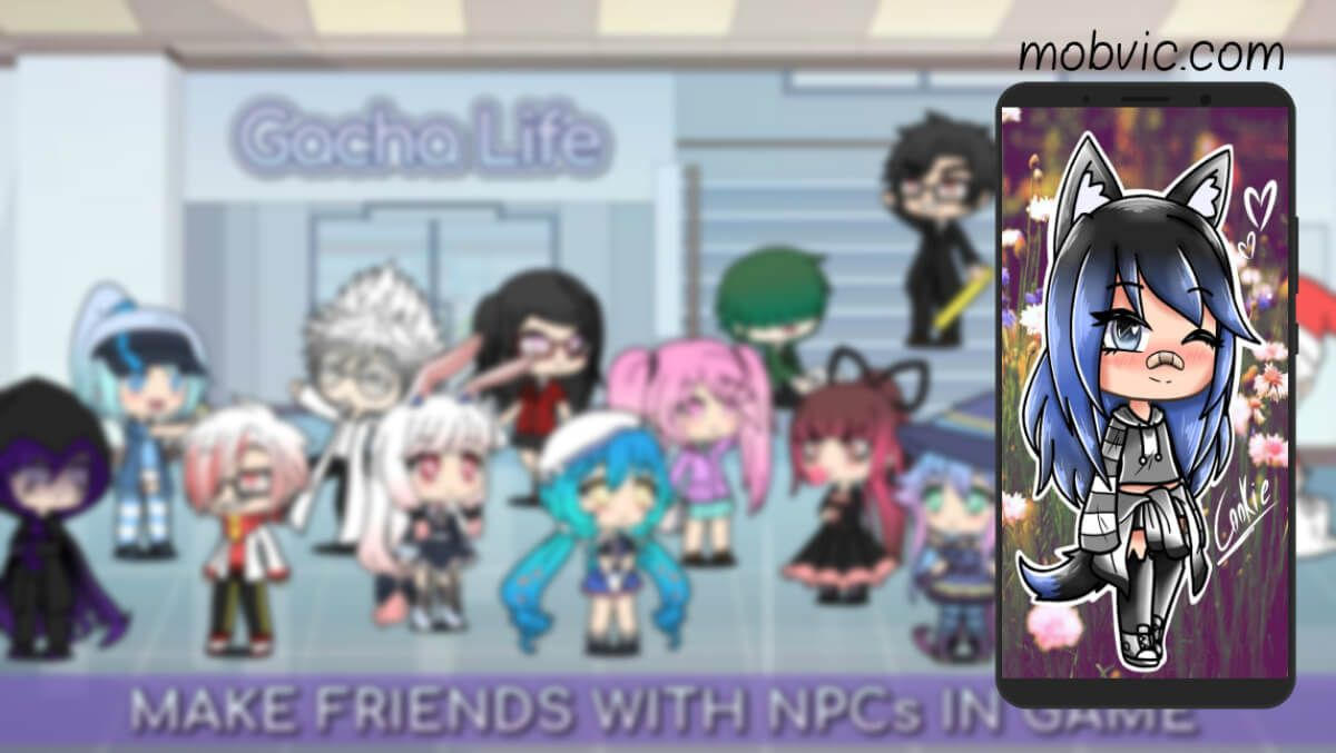 تحميل لعبة قاشا لايف الاصدار القديم Gacha Life Apk للأندرويد والآيفون مجانا كاملة Baseball Cards Making Friends Cards