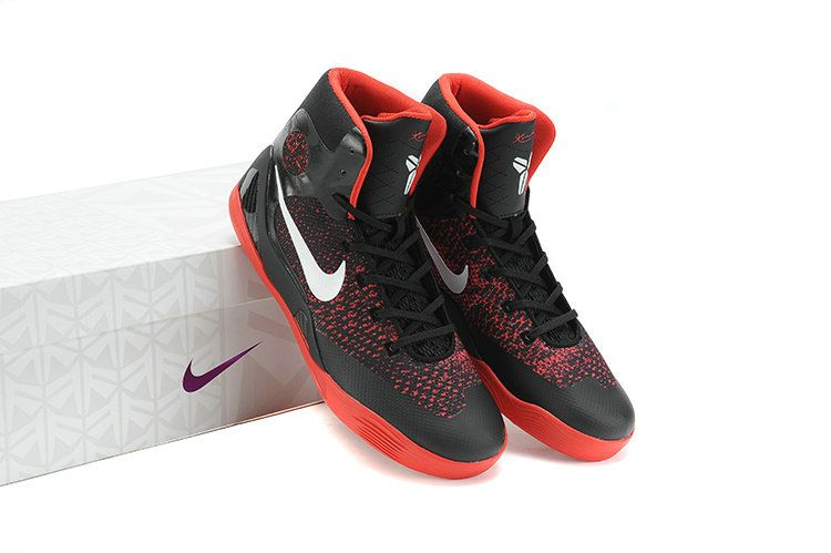 low priced 4c50d 0a94a Nike-Kobe-9-Elite-GS-Womens-Orange-Red-Carbon-Black-Noble-White