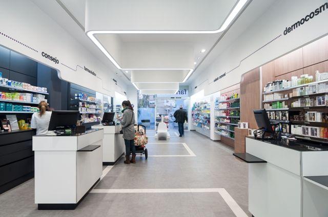 Muebles para farmacia dise o de farmacias modernas for Muebles para farmacia