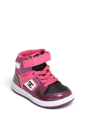 ed58b49caaf DC Shoes 'Destroyer' High Top Sneaker (Walker & Toddler) available at  #Nordstrom