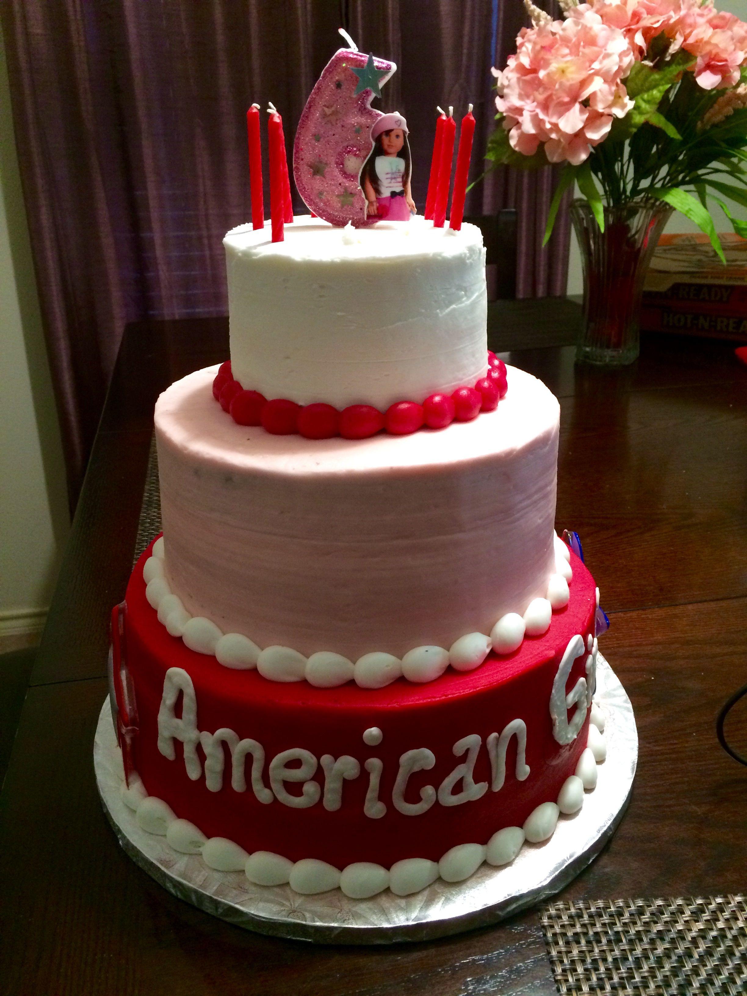 Astounding American Girl Cake From Sams Club 3 Tier American Girl Cakes Personalised Birthday Cards Paralily Jamesorg