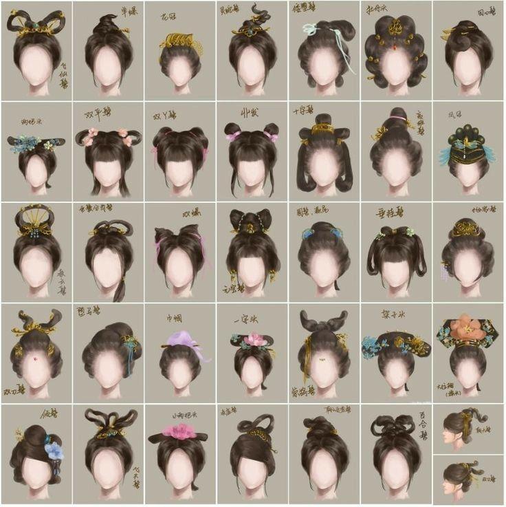 Tranh Cổ Trang-lượm Nhặt - Vấn tóc
