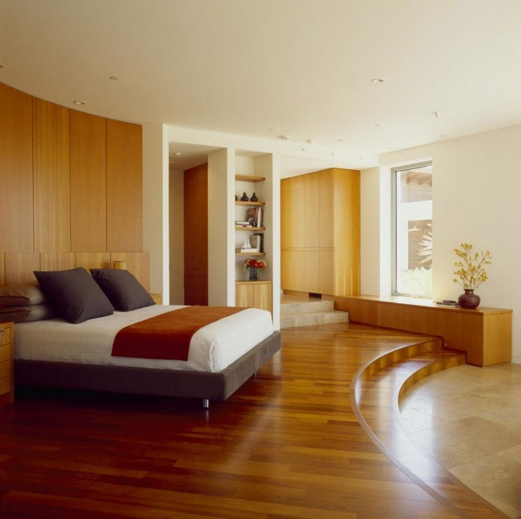 30 wood flooring ideas and trends for your stunning for Modern wooden bedroom designs