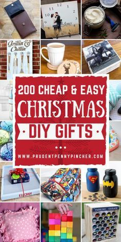 200 Cheap And Easy Diy Christmas Gifts 200 Cheap and Easy DIY Christmas Gifts Diy Christmas Gifts diy christmas gifts