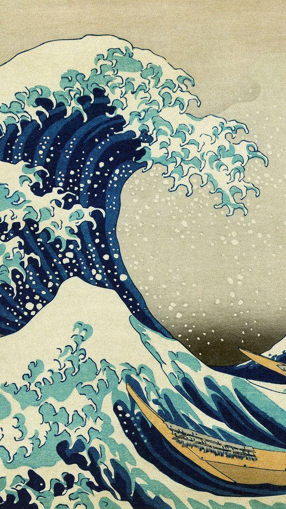 22 X 34 The Great Wave off Kanagawa FAST SHIPPING Beautiful