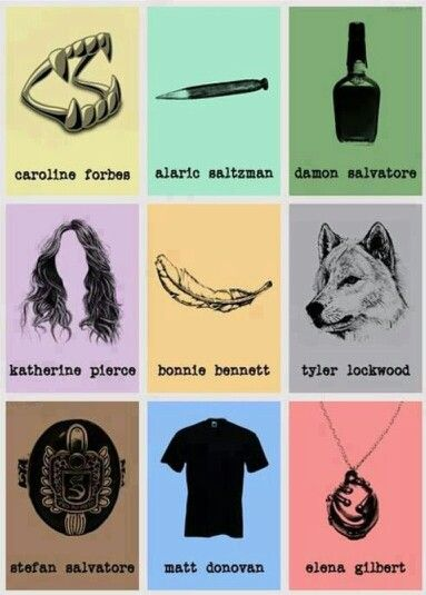 The Vampire Diaries Signature Things