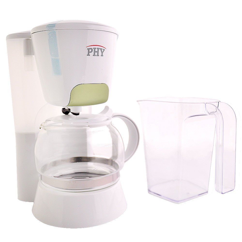 Phy 4 Cup 0 6l Switch Coffee Maker Coffeemaker With Glass Carafe And Permanent Filter And Semi Transparent Water Coffee Maker Glass Carafe Smoothie Blender