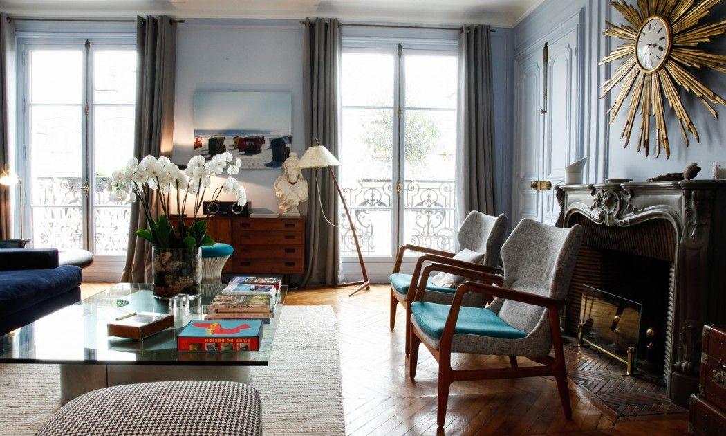 Julia Rouzaud Et Julien Manon 7 Ans Et Leon 3 Mois Interieur D Appartement Interieurs Francais Et Meuble Maison