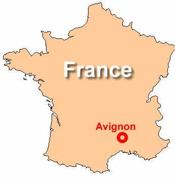 Avignon France Map Avignon, France | school | France, South of france, Travel Avignon France Map