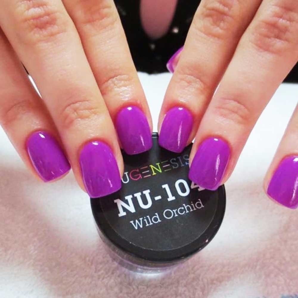 This darling hue of purple is available in nail dipping powder ...