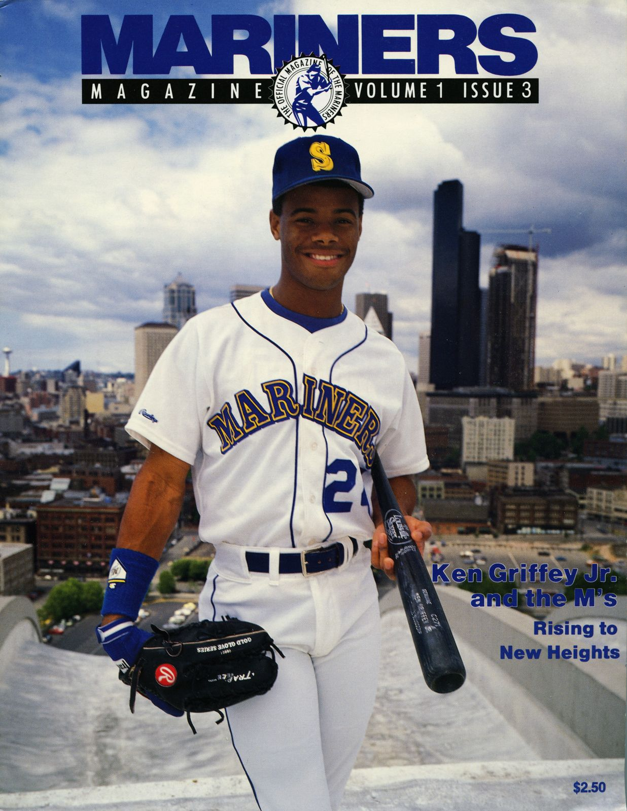 sale retailer 7981e dbd1c Ken Griffey Jr., #Mariners Magazine (1989) | The Cover Boys ...