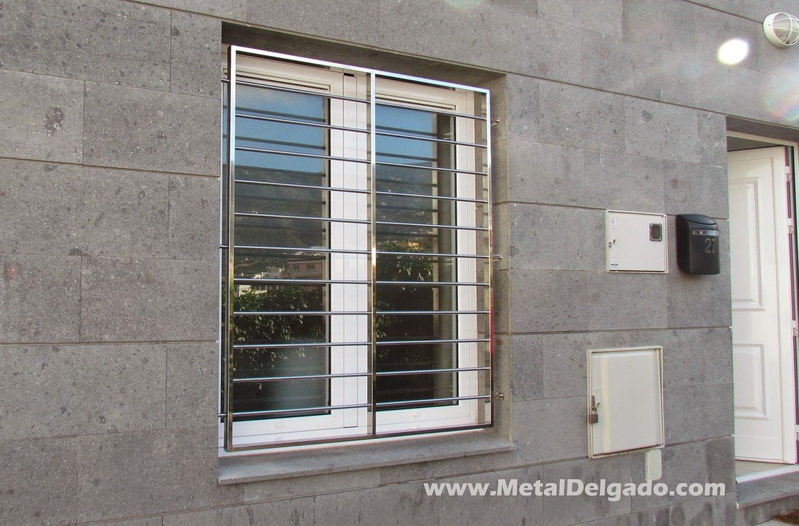 Reja de seguridad en acero Inoxidable. Diseño y fabricación Metal ...