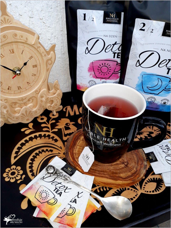 Detox Tea Herbata Na Dzien I Na Noc Detox I Noc