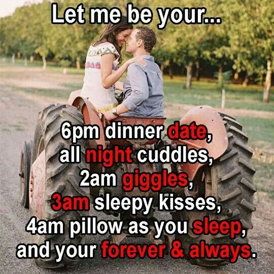 Cute romantic saying