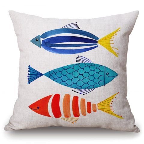 GET $50 NOW | Join RoseGal: Get YOUR $50 NOW!http://www.rosegal.com/decorative-pillows-shams/fashionable-cartoon-watercolor-fish-pattern-square-shape-pillowcase-without-pillow-inner-498408.html?seid=6897633rg498408