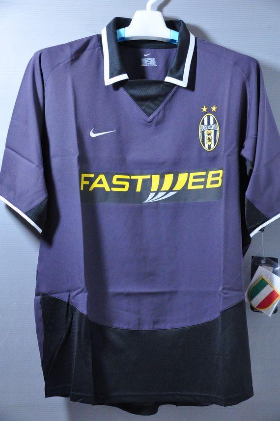 84a4336b3b6 Juventus 2003 Away Replica Jersey Shirt Series A Vintage