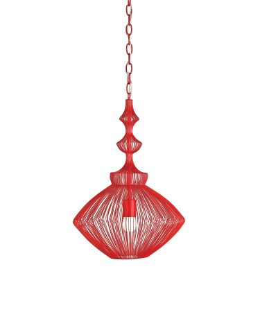 Currey and Company 9068 Parker 15 Inch Ceiling Pendant