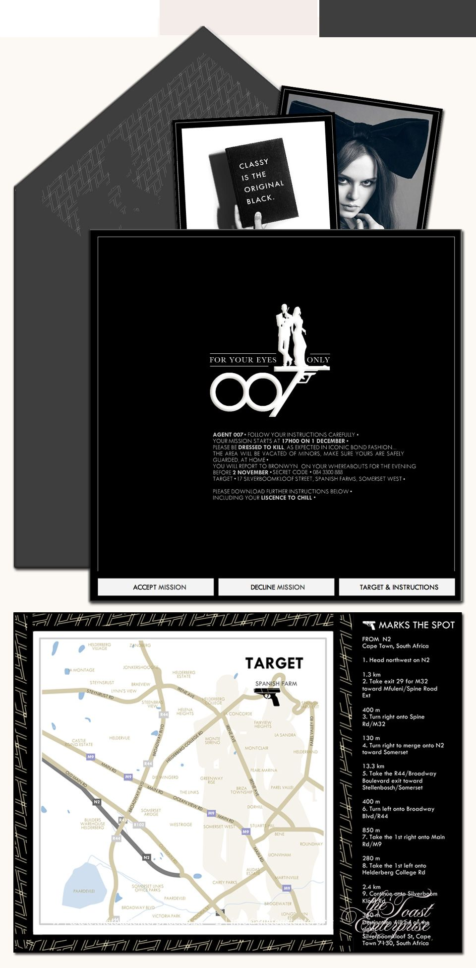 Personalized james bond 007 theme party invitations this is personalized james bond 007 theme party invitations this is happening 007 the spy who loved me pinterest james bond party invitations and james bond stopboris Choice Image