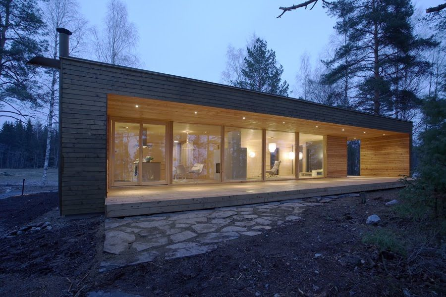 Scandinavian Retreat Prefab From Finland Architecture Prefab Scandinavian Architecture