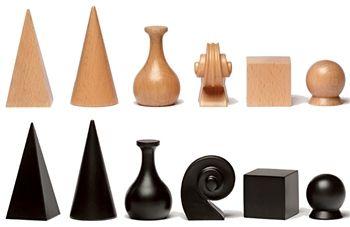 piezas ajedrez .