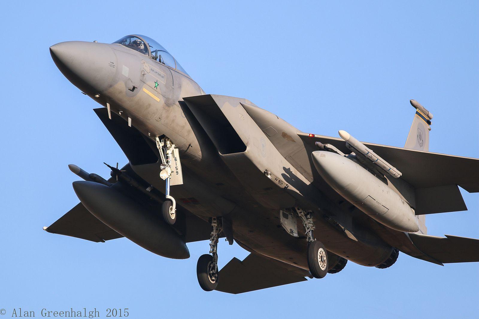 McDonnell Douglas F15C Eagle 86159 USAF Fighter