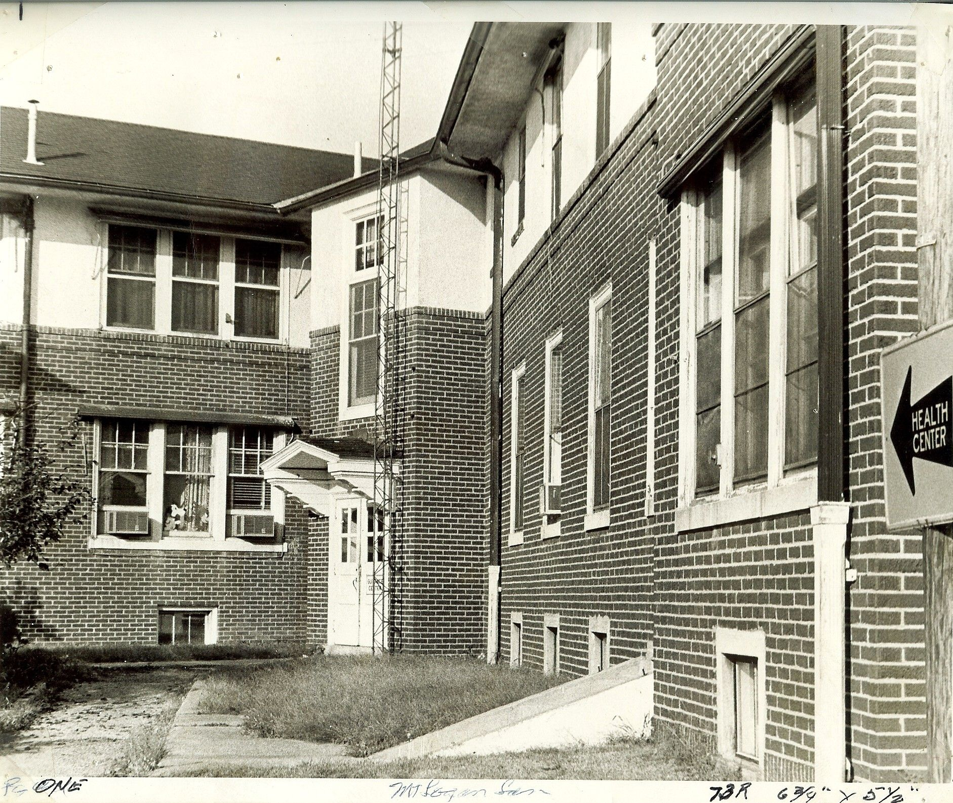 A closer look at the old TB Sanitarium, when it was being