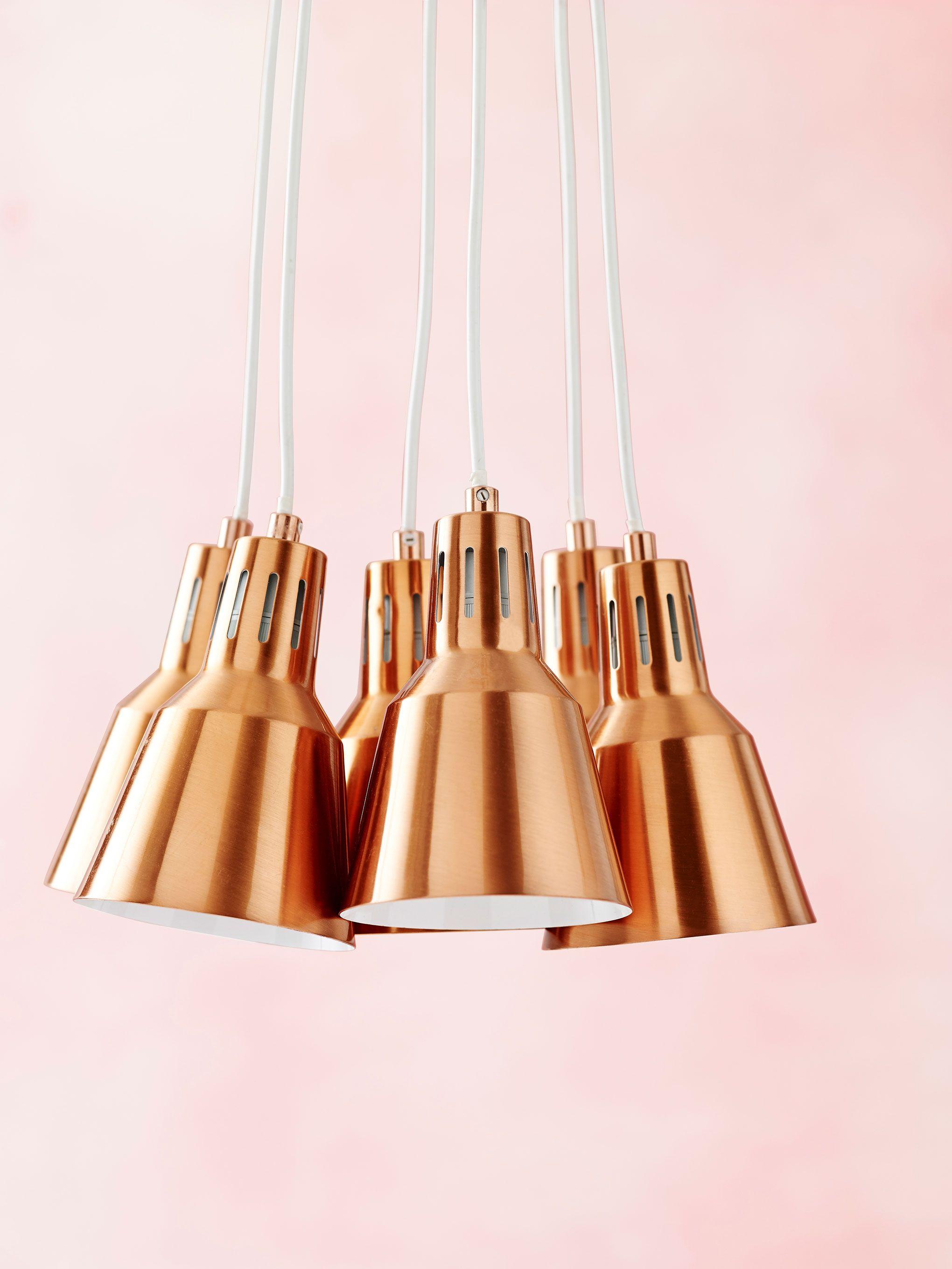 Telegraph Lighting Pendant Set In Copper Available At Domayne Australia