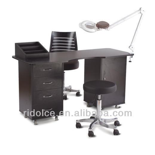 MDF Melamin Nail technician tables used nail salon equipment F-2030 ...