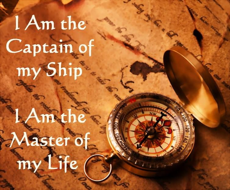 i am the captain of my ship