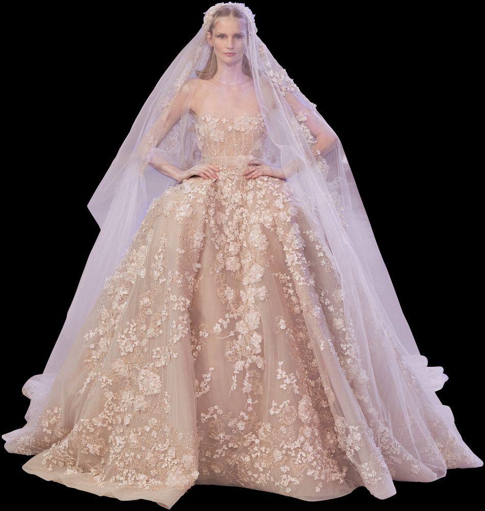 ELIE SAAB - Alta Costura - Primavera Verano 2014 | #Wedding ...