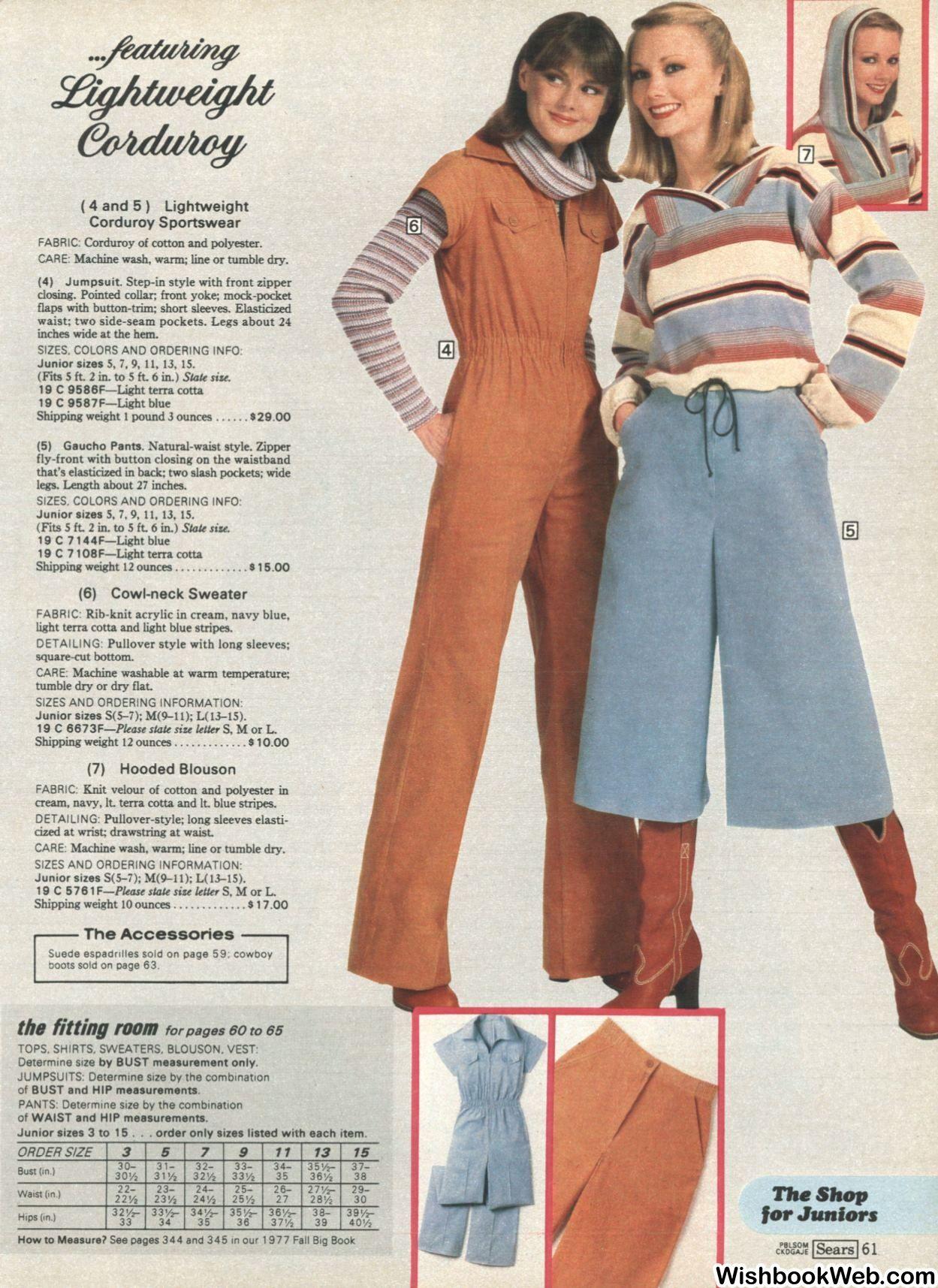 ac01fd6566 Sears, 1977 | Seventeen magazine in 2019 | Fashion, 1977 fashion ...
