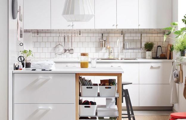 Ways To Open Small Kitchens Space Saving Ideas From Ikea Ikea Small Kitchen Ikea Kitchen Design Kitchen Accessories Design