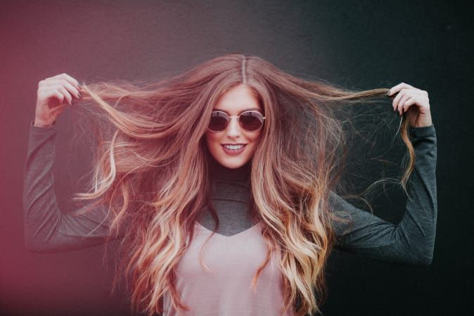 I Tried It: Tape-In Hair Extensions