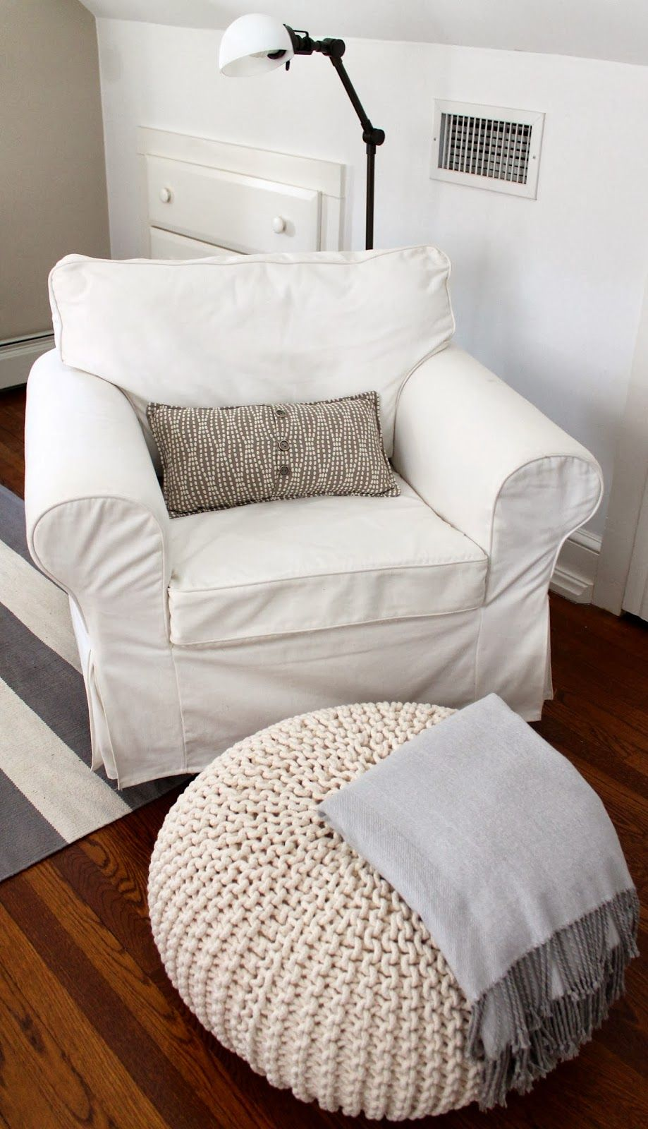 DIY armchair glider -the picket fence projects: I wanna rock! | ikea ...