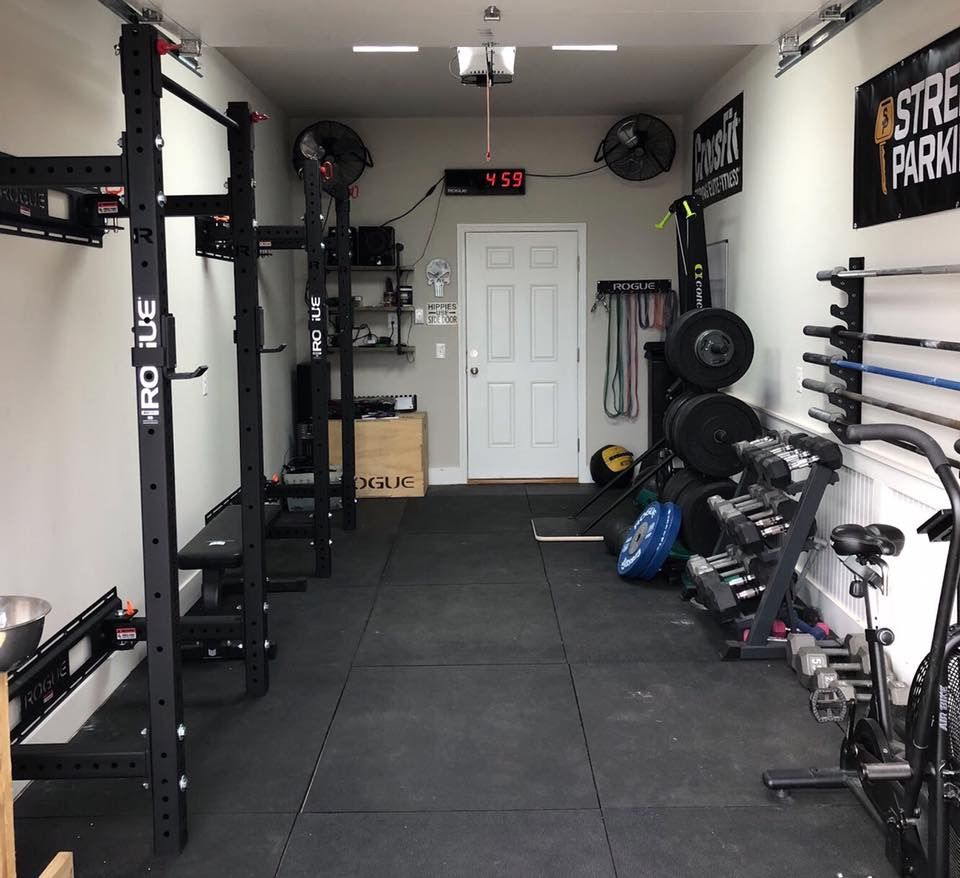16 Garage Gym Designs Ideas: Gym Room, Gym Room At Home