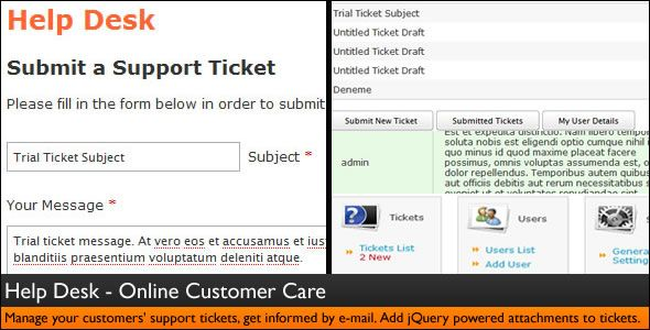 Help Desk - Customer Service - Ticket System  PLEASE CLICK HERE - create a ticket template