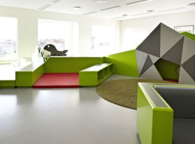 Colorful Multifunctional Learning Spaces At The Vittra School Stockholm ArchitectureLearning SpacesSchool DesignGallery