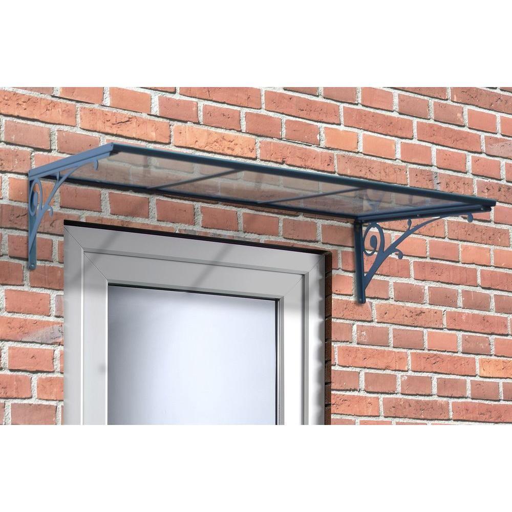 Palram Aries 1350 Clear Awning703179 Metal awning