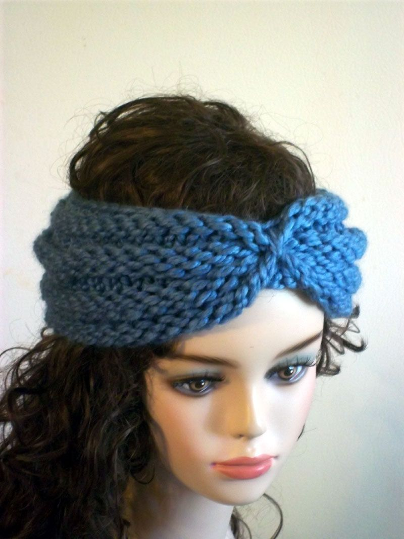 Head Band knitted pattern - Google Search | HEADBAND KNITTED PTTERNS ...