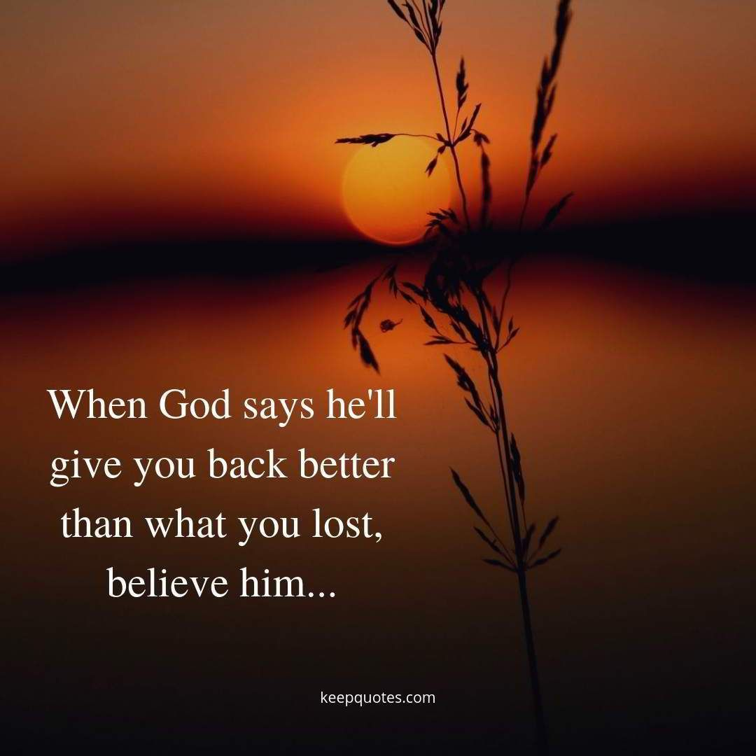believe in god and prayer quote