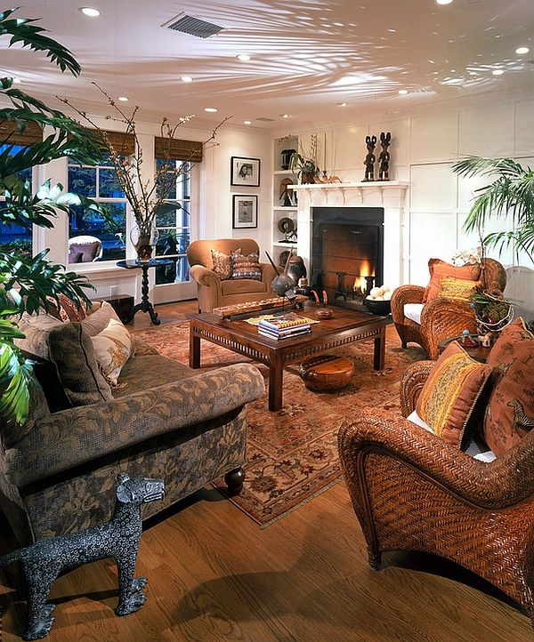 African Style Living Room Design Arranging Furniture In Small With French Doors Inspired Interior Ideas British Colonial Vivacious Tropical An Apparent Http Www