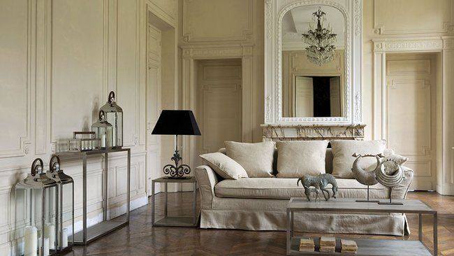 Salon classique | Idées salon | Pinterest | Salons and Decoration