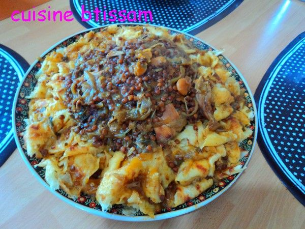 Rfissa traditionnelle marocaine | Rfissa, Rfissa marocaine ...