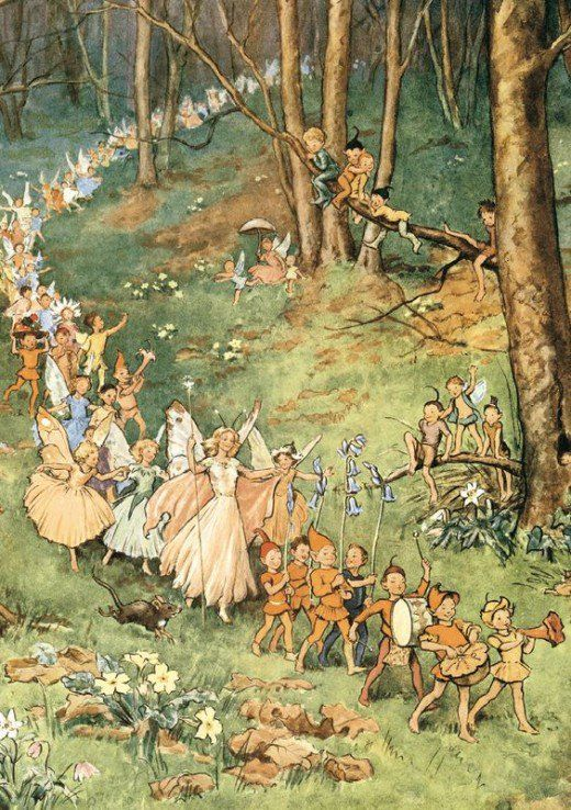 Do You Believe in Fairies? Fairy folklore has been