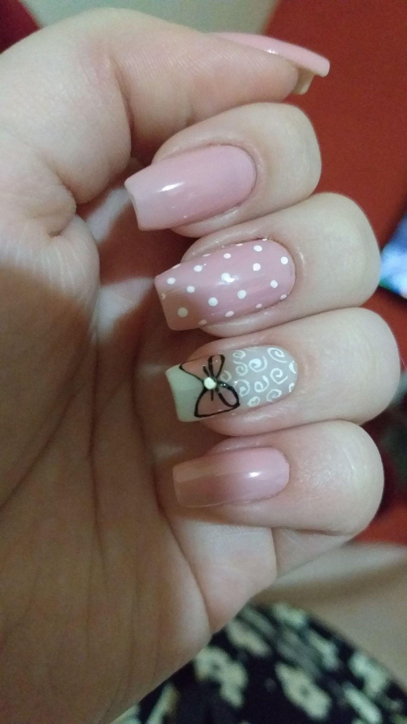 Pin de shany moshe en nail design en 2019 u as francesas - Modelo de unas pintadas ...