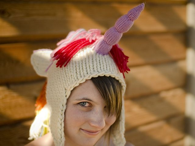 69be602dc4d Unicorn Hat pattern by Brittany Tyler Simmonds
