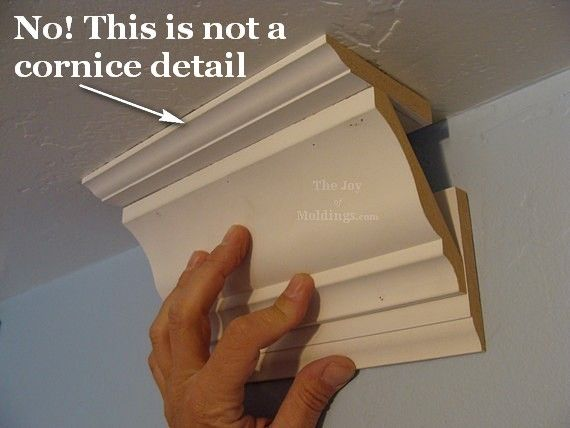 Three Piece Crown Molding Three Common Mistakes The Joy Of Diy Crown Molding Moldings And Trim Crown Molding