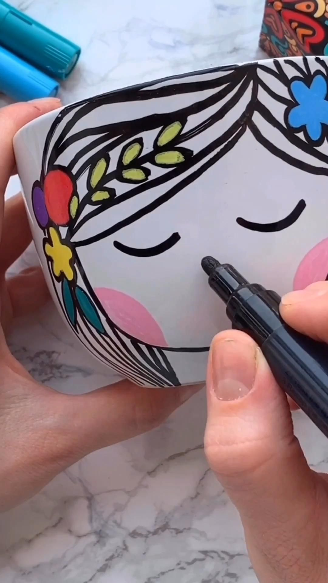 Creative Paintings on Mug