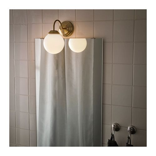 ikea lighting bathroom. LILLHOLMEN Wall Lamp - IKEA Ikea Lighting Bathroom